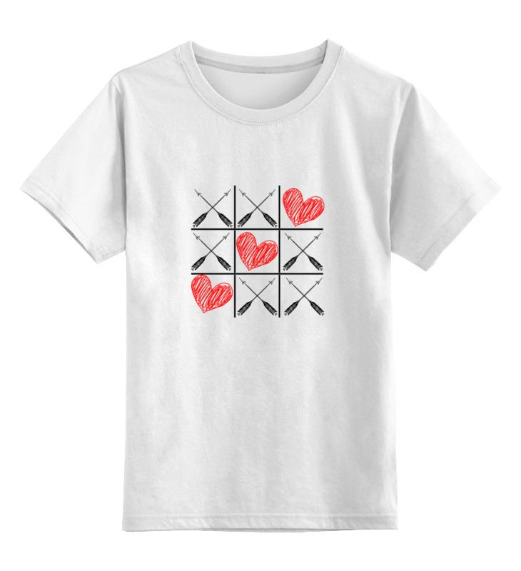 Детская футболка классическая унисекс Printio Любовь (love) игра молчанова и игра на любовь