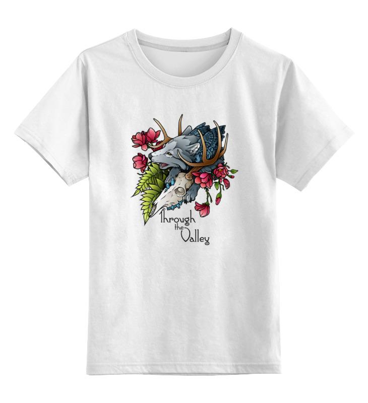Детская футболка классическая унисекс Printio Through the valley