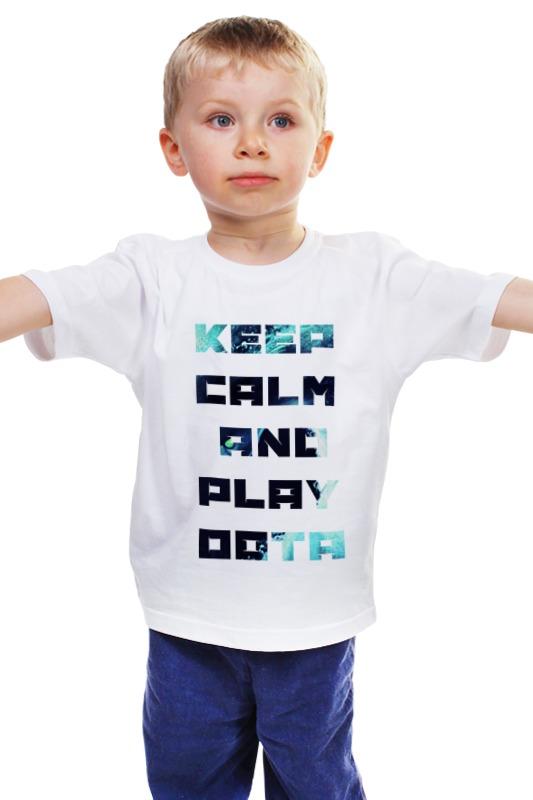 Детская футболка классическая унисекс Printio Dota2 футболка классическая printio 62 2% в саратове