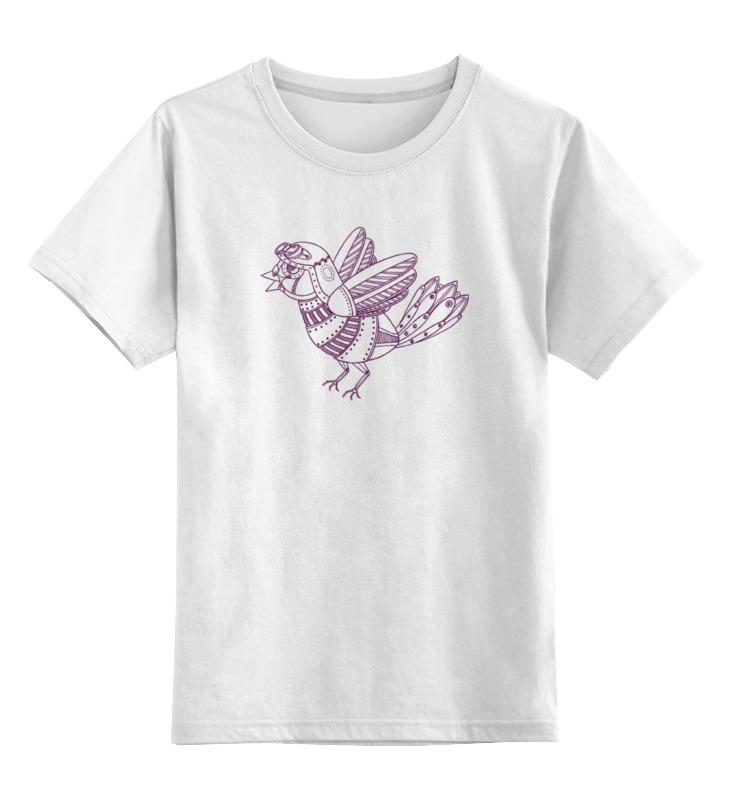 Фото - Детская футболка классическая унисекс Printio Механический воробей детская футболка классическая унисекс printio воробей обнимашка