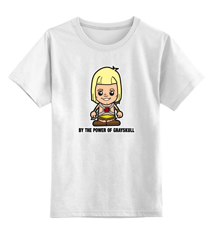 Детская футболка классическая унисекс Printio Хи-мен футболка wearcraft premium slim fit printio батрос хи мен
