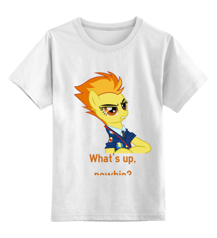 купить Детская футболка классическая унисекс Printio Spitfire по цене 543 рублей