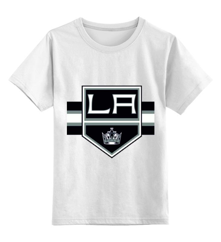 Детская футболка классическая унисекс Printio Лос-анджелес кингс футболка классическая printio kings