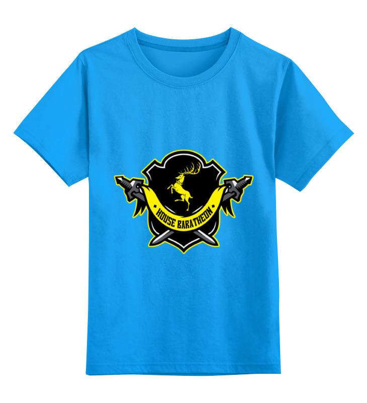 цена на Детская футболка классическая унисекс Printio House baratheon