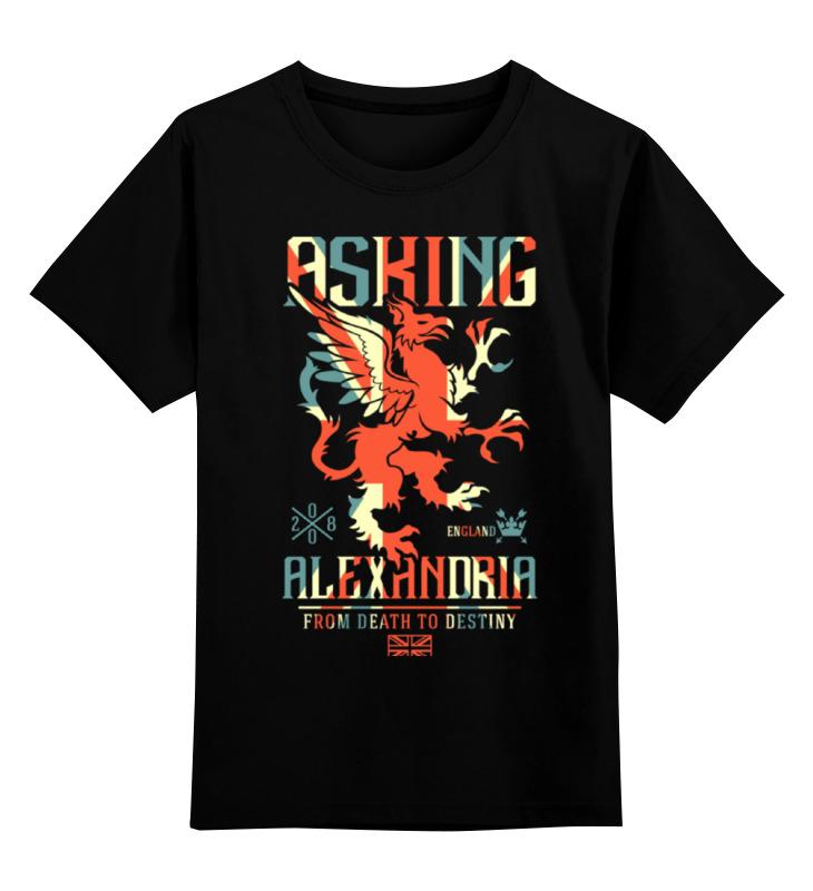 Детская футболка классическая унисекс Printio Asking alexandria детская футболка классическая унисекс printio рога