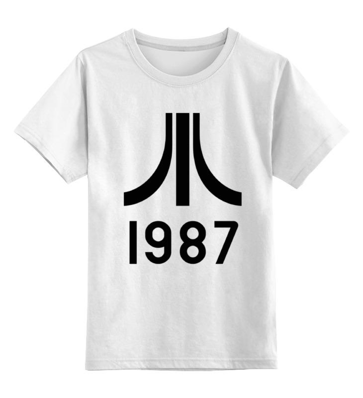 Детская футболка классическая унисекс Printio Атари цена и фото