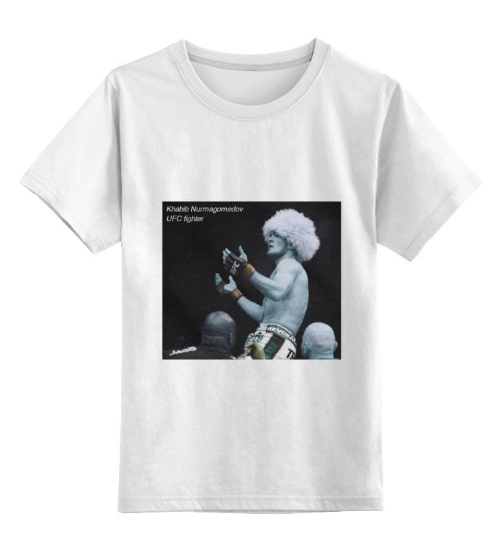 Детская футболка классическая унисекс Printio Khabib nurmagomedov майка print bar khabib