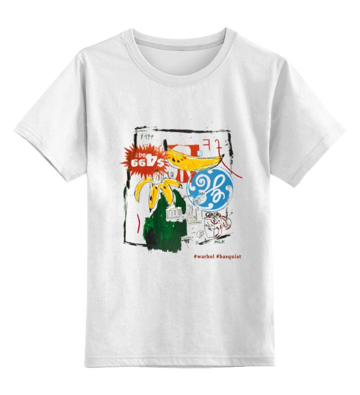 Детская футболка классическая унисекс Printio Warhol - basquiat майка классическая printio warhol basquiat