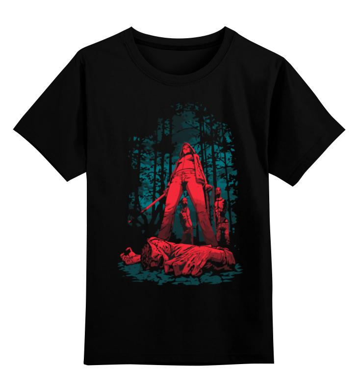 Детская футболка классическая унисекс Printio Охотник на зомби мантык охотник на львов