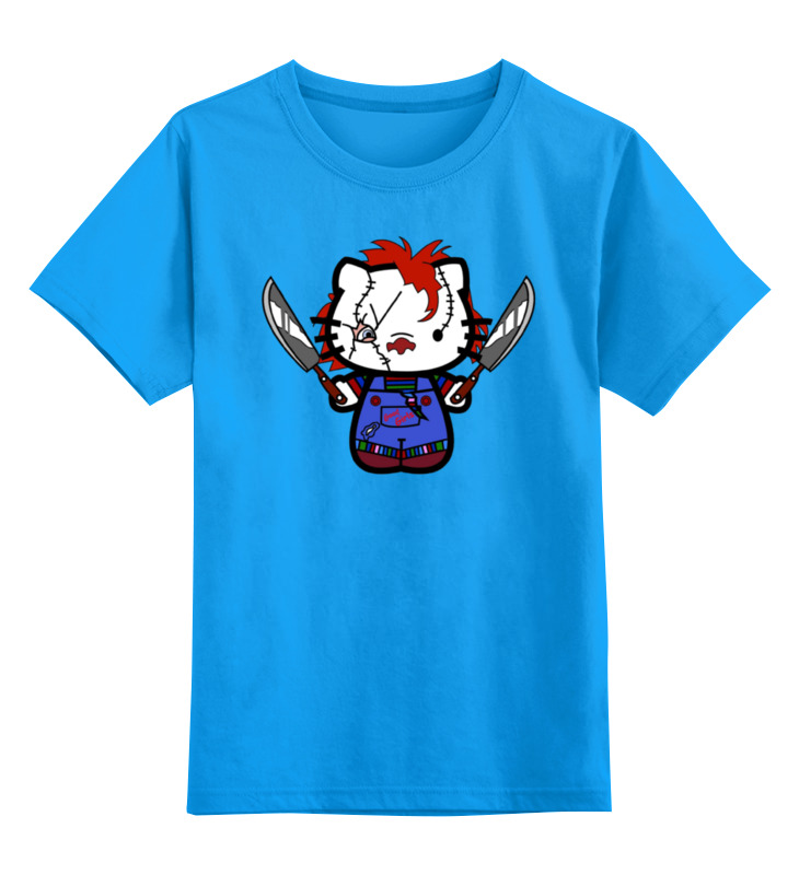 Детская футболка классическая унисекс Printio Hello chucky футболка классическая printio chucky killer