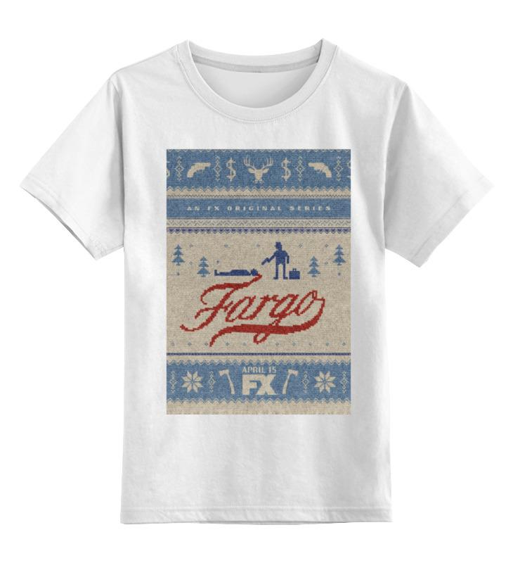 Детская футболка классическая унисекс Printio Фарго / fargo майка классическая printio fargo фарго