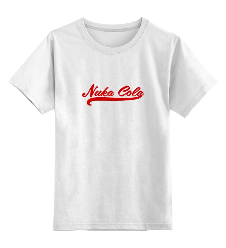 Детская футболка классическая унисекс Printio Nuka cola (fallout) футболка классическая printio fallout фэллаут