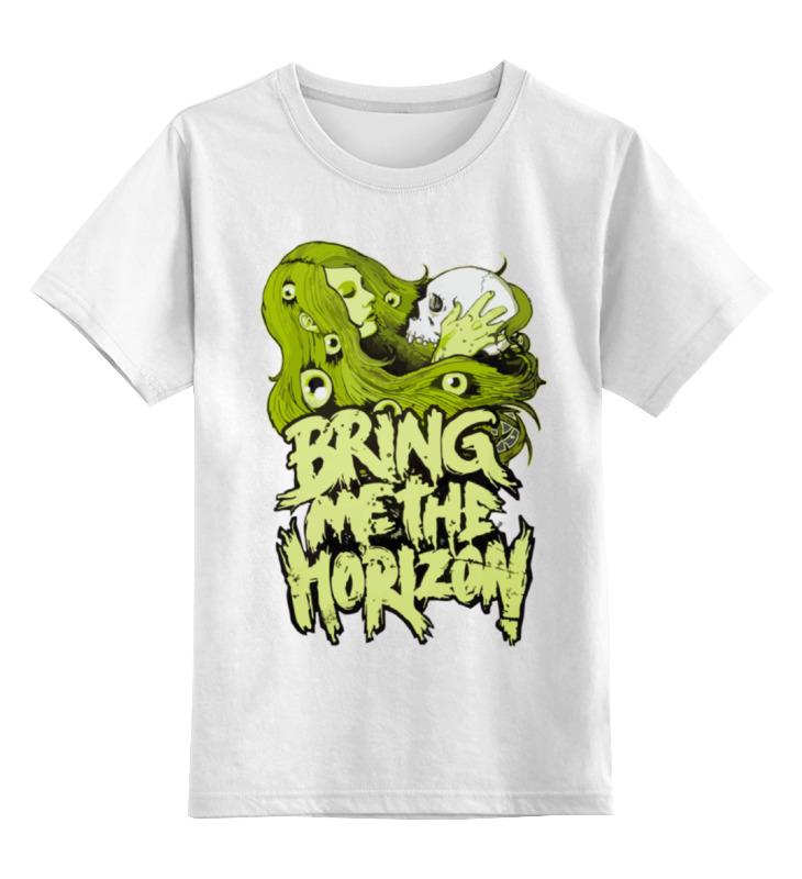 Детская футболка классическая унисекс Printio Bring me the horizon