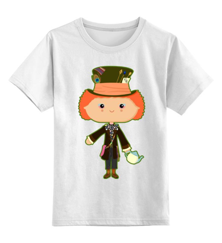 Детская футболка классическая унисекс Printio Безумный шляпник детская футболка классическая унисекс printio безумный шляпник