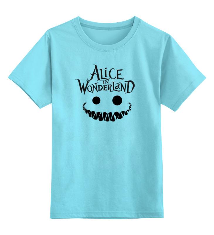 Детская футболка классическая унисекс Printio Alice in wonderland футболка print bar rabbit of alice wonderland