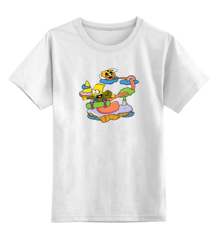 Детская футболка классическая унисекс Printio Барт симпсон детская футболка классическая унисекс printio мотоцикл