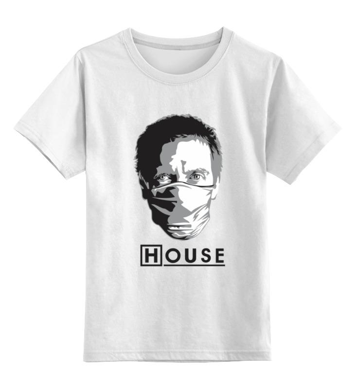 Детская футболка классическая унисекс Printio Доктор хаус цена