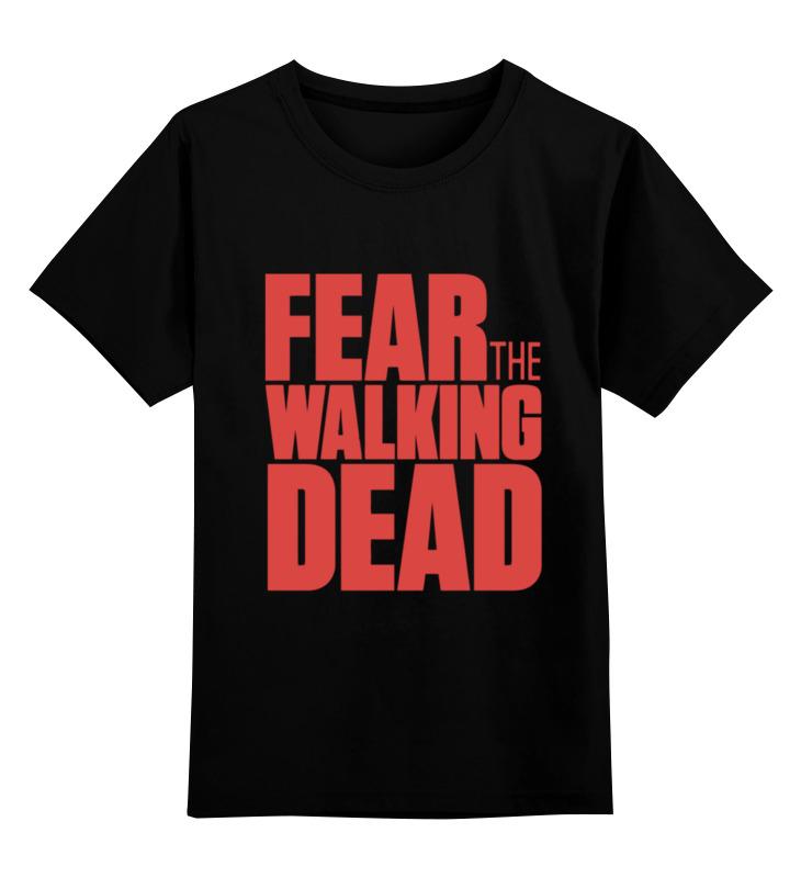Детская футболка классическая унисекс Printio Ходячие мертвецы (the walking dead) худи print bar the walking dead