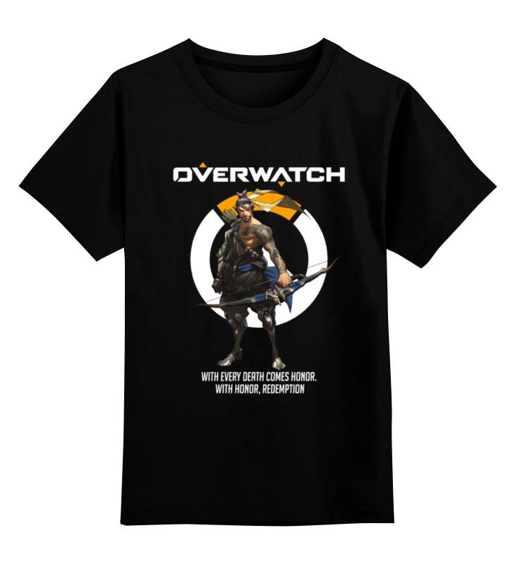 Детская футболка классическая унисекс Printio Overwatch. хандзо футболка классическая printio overwatch хандзо
