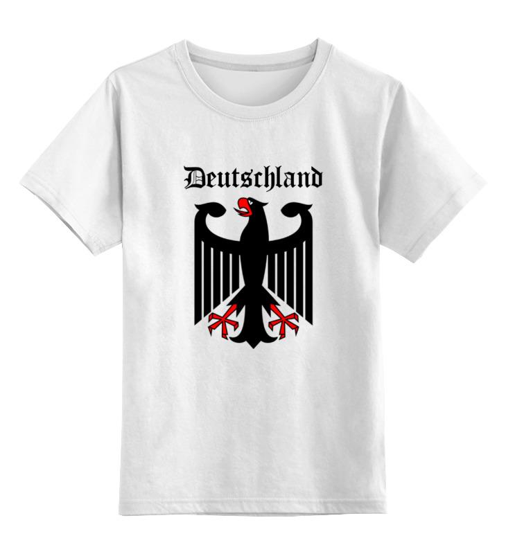Детская футболка классическая унисекс Printio Германия