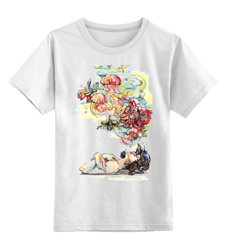 Детская футболка классическая унисекс Printio Сон дядюшкин сон