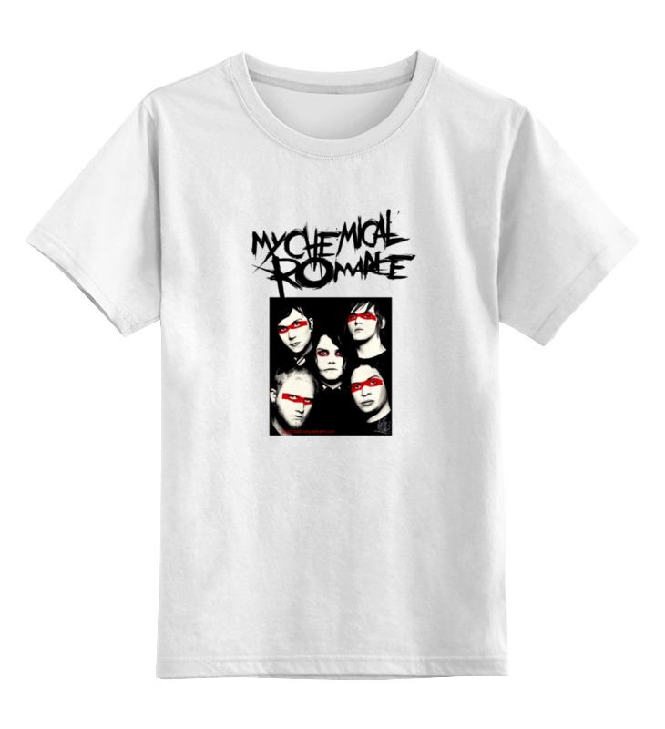 Детская футболка классическая унисекс Printio My chemical romance my chemical romance купить cd