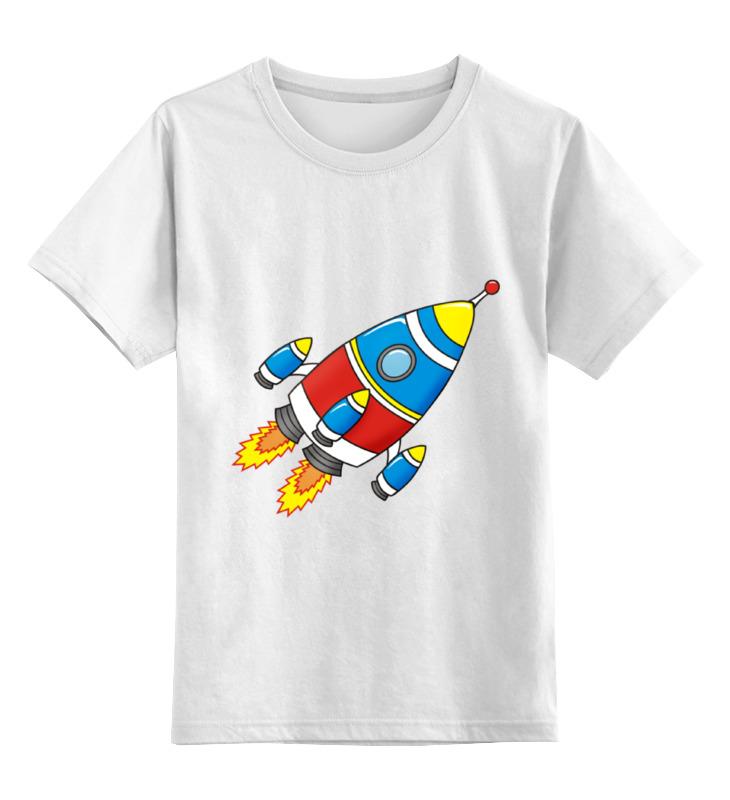 Детская футболка классическая унисекс Printio Ракета 1