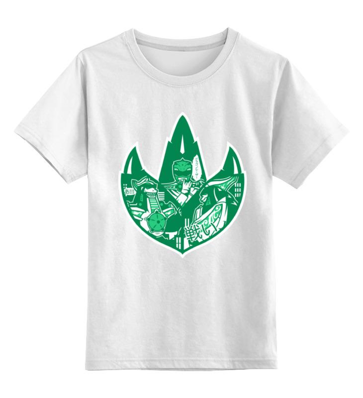 Детская футболка классическая унисекс Printio Могучие рейнджеры футболка с полной запечаткой printio могучие рейнджеры power rangers