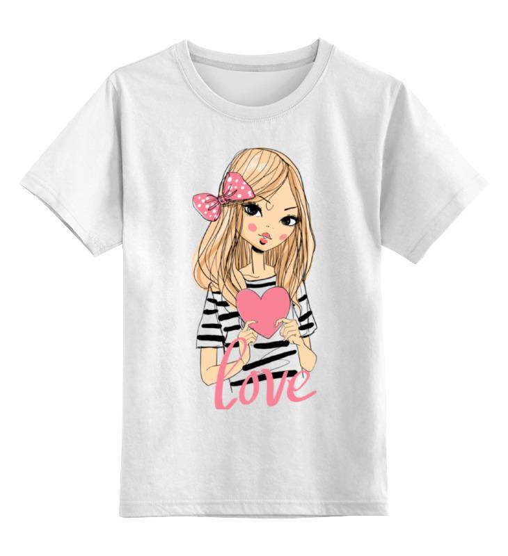 Printio Девочка детская футболка классическая унисекс printio девочка тролль с сердечком