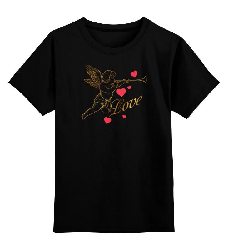 Детская футболка классическая унисекс Printio Ангел. блокнот printio ангел на облаке