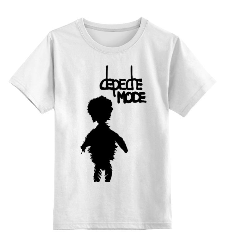 Детская футболка классическая унисекс Printio Depeche mode футболка рингер printio depeche mode