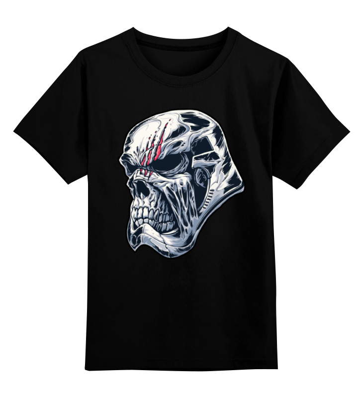 Детская футболка классическая унисекс Printio Star wars undead stormtrooper / штурмовик single sale super heroes star wars finn stormtrooper anakin k 3po malakili princess leia building blocks children gift toy 8049