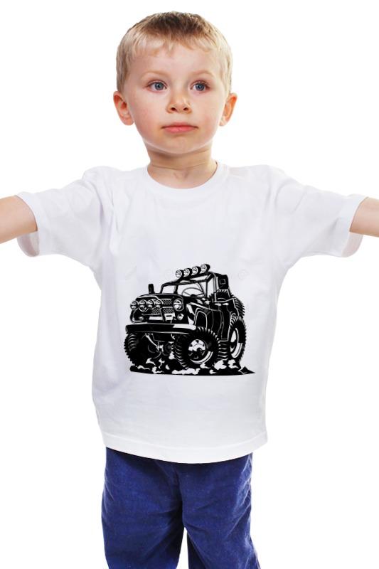 Детская футболка классическая унисекс Printio Авто уаз авто с пробегом в твери уаз