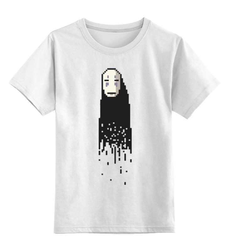 Детская футболка классическая унисекс Printio Без лица (унесенные призраками)