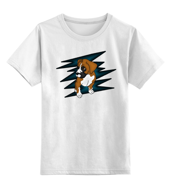 Printio Puppy boxer детская футболка классическая унисекс printio boxer blue
