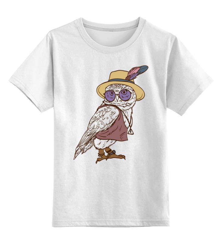 Printio Сова. детская футболка классическая унисекс printio зимняя сова