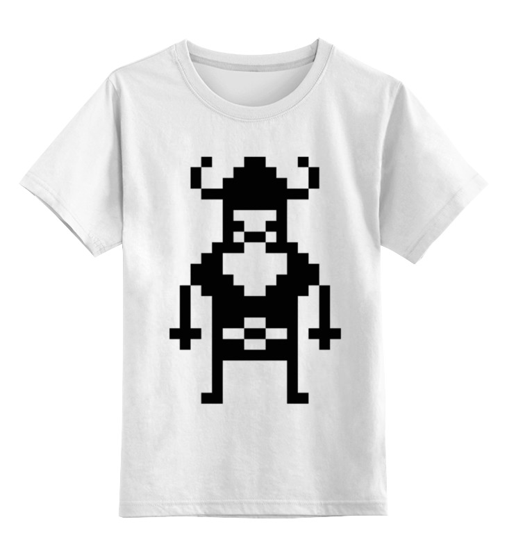 Детская футболка классическая унисекс Printio Викинг детская футболка классическая унисекс printio суровый викинг