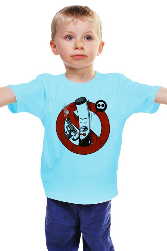 Детская футболка классическая унисекс Printio Курение убивает! (сигарета) детская футболка классическая унисекс printio мачете убивает