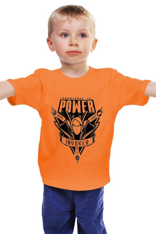 Детская футболка классическая унисекс Printio Invoker детская футболка классическая унисекс printio мачете