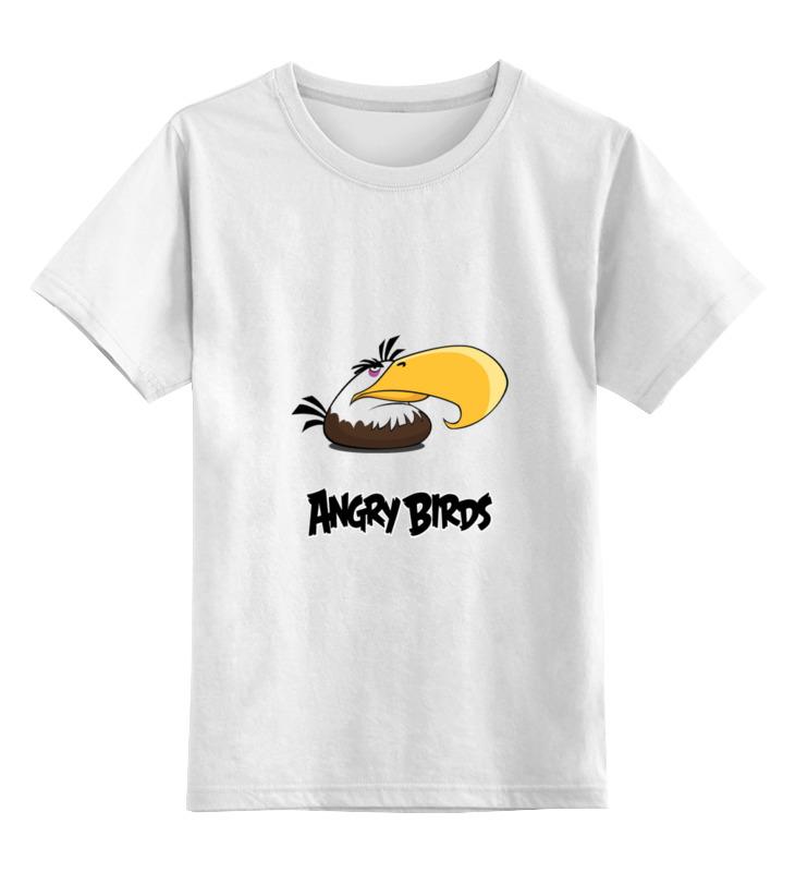 Детская футболка классическая унисекс Printio Злые птицы llano type c micro usb lightning 3 в 1мобильный телефон зарядный кабель многофункциональных зарядный кабель 1 2 метр