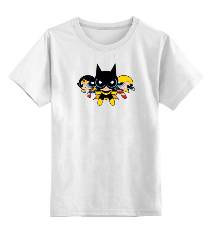 Детская футболка классическая унисекс Printio Супер девушки