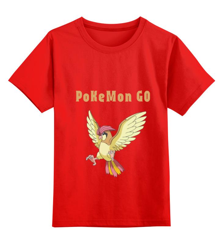 Детская футболка классическая унисекс Printio Pokemon pidgeotto