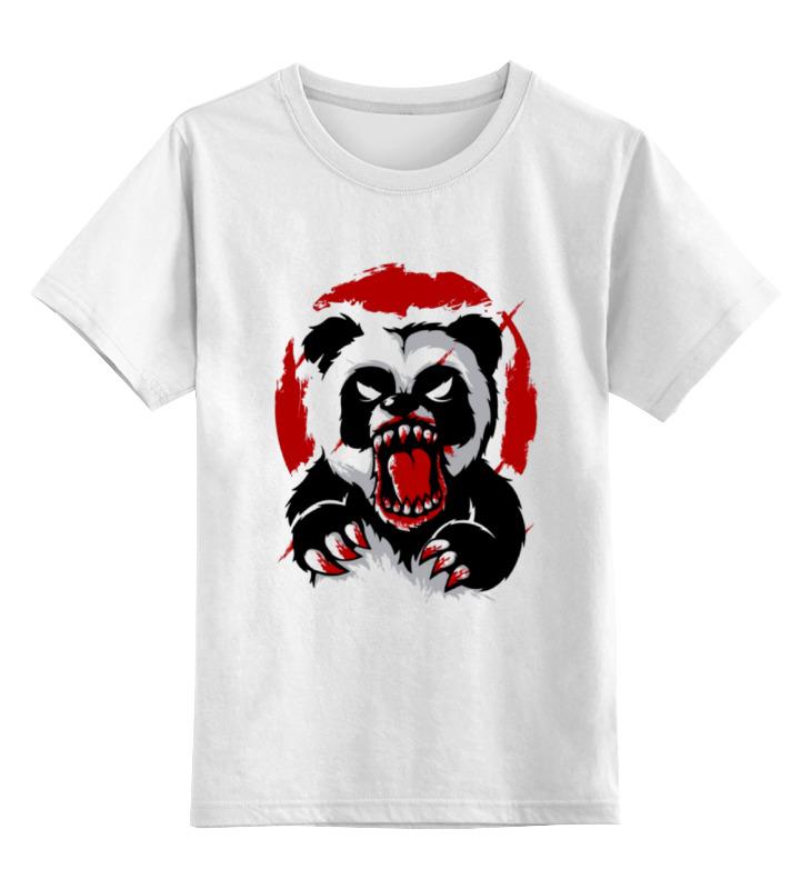 Детская футболка классическая унисекс Printio Разъярённый медведь детская футболка классическая унисекс printio мачете