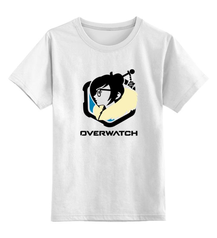 Детская футболка классическая унисекс Printio Overwatch mei детская футболка классическая унисекс printio overwatch tracer