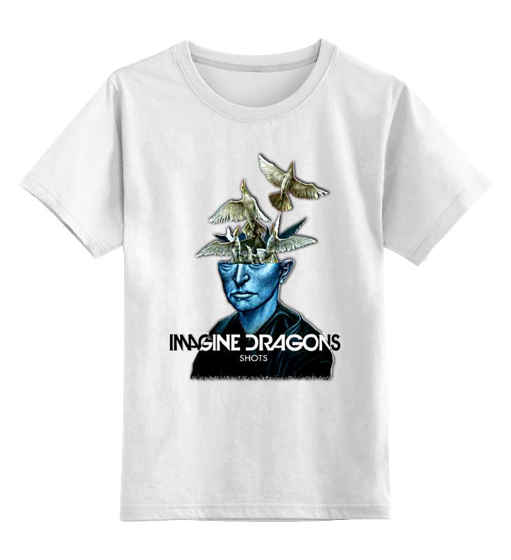 Детская футболка классическая унисекс Printio Imagine dragons dragons фигурка toothless сидящий