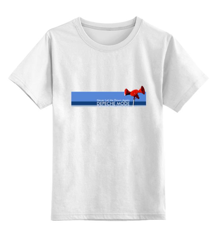 Детская футболка классическая унисекс Printio Depeche mode cd диск depeche mode music for the masses 1 cd