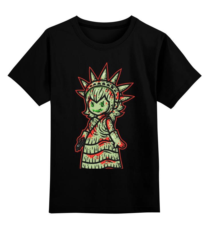 Фото - Детская футболка классическая унисекс Printio Статуя свободы детская футболка классическая унисекс printio ворон свободы
