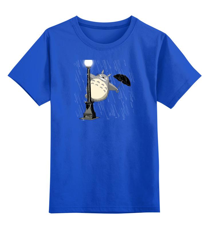 Детская футболка классическая унисекс Printio Поющий под дождём лонгслив printio поющий под дождём