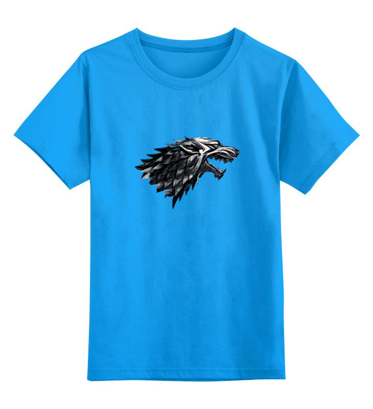 Детская футболка классическая унисекс Printio Дом старков (игра престолов) детская футболка классическая унисекс printio живой летающий дом