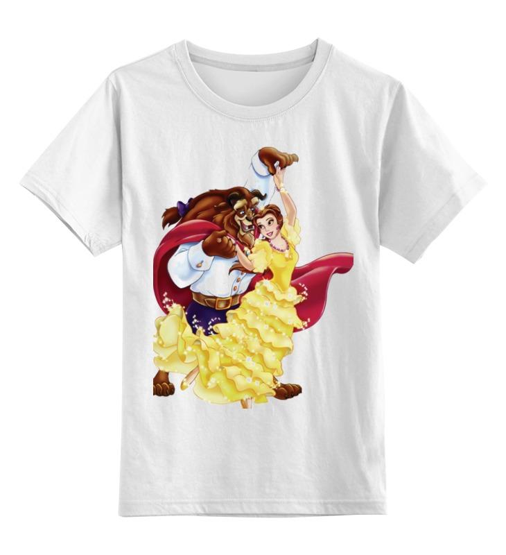 Детская футболка классическая унисекс Printio Красавица и чудовище сумка printio красавица и чудовище